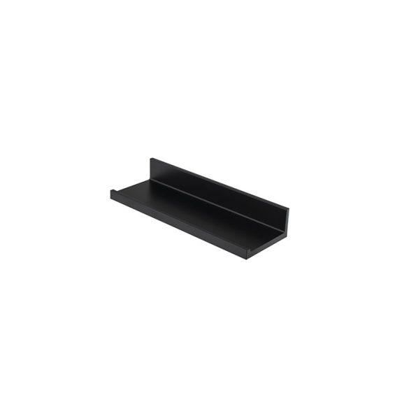 Porcelanosa Essence-C 30cm-es fekete polc