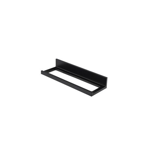Porcelanosa Essence-C 30cm-es fekete törölközőtartó